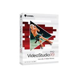 Logiciel Corel VideoStudio Pro X9 - Ensemble de boîtes - 1 utilisateur - DVD (mini-boîtier) - Win - Multi-Lingual