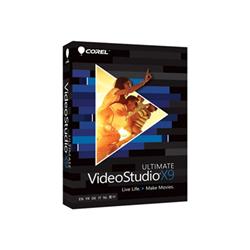 Logiciel Corel VideoStudio Ultimate X9 - Ensemble de boîtes - 1 utilisateur - DVD (mini-boîtier) - Win - Multilingue