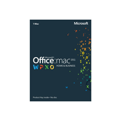 Software Microsoft - Office 2008 Business Edition Mac