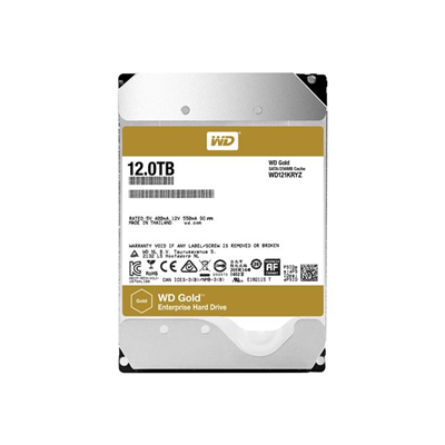 WESTERN DIGITAL - WD GOLD HDD 3.5P 12TB SATA3 (EP)