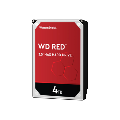 Western Digital - WD RED 3.5 4TB 64MB SATA3 NAS (DK)