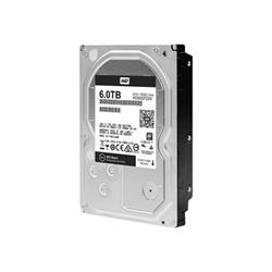 "Disque dur interne WD Black Performance Hard Drive WD6002FZWX - Disque dur - 6 To - interne - 3.5"" - SATA 6Gb/s - 7200 tours/min - mémoire tampon : 128 Mo"