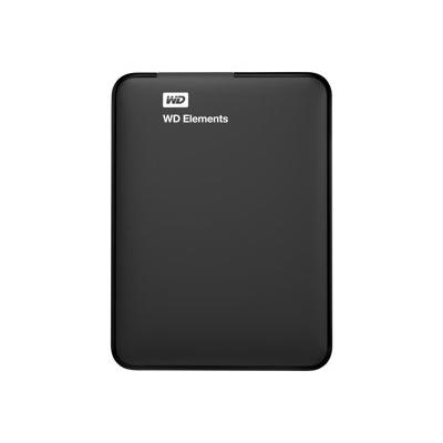 WESTERN DIGITAL - ELEMENTS PORTABLE 750GB BLACK