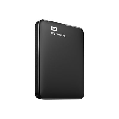 WESTERN DIGITAL - =>>ELEMENTS PORTABLE 750GB BLACK