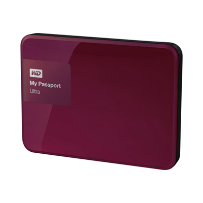 WESTERN DIGITAL - MY PASSPORT ULTRA 500GB BERRY