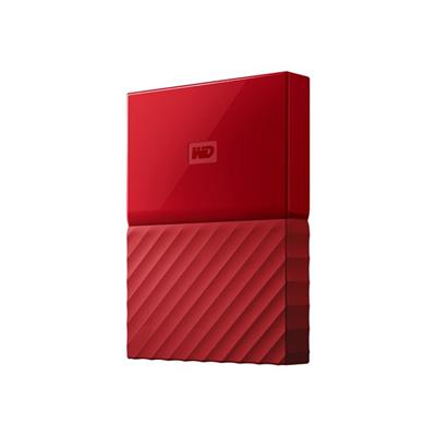 WESTERN DIGITAL - MY PASSPORT  2TB RED WORLDWIDE