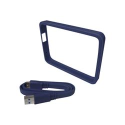 Sacoche WD Grip Pack WDBZBY0000NBA - Protection de lecteur de disque dur externe - ardoise - pour My Passport Ultra WDBGPU0010BBK, WDBGPU0010BBL, WDBGPU0010BBY, WDBGPU0010BWT