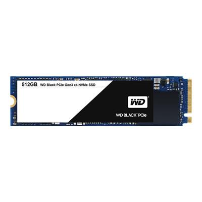 WESTERN DIGITAL - SSD WD BLACK PCIE GEN3 512GB