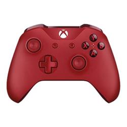 Contrôleurs Microsoft Xbox Wireless Controller - Gamepad - sans fil - Bluetooth - rouge - pour PC, Microsoft Xbox One, Microsoft Xbox One S