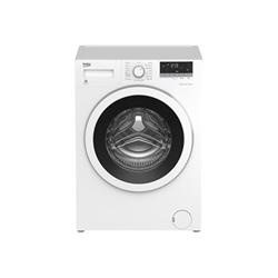 Lave-linge Beko WMY61033PTMB3 - Machine � laver - pose libre - largeur : 60 cm - profondeur : 50 cm - hauteur : 84 cm - chargement frontal - 6 kg - 1000 tours/min - blanc