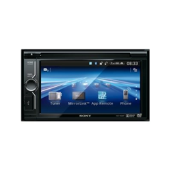 Autoradio Sony XAV-602BT - Récepteur DVD - affichage - 6.1 po - unité intégrée au tableau de bord - Double-Din - 4 x 52 Watts