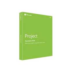 Software Microsoft - Office Project Standard 2016