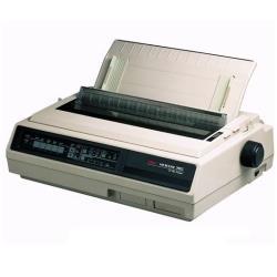 Imprimante OKI Microline 395B - Imprimante - monochrome - matricielle - 360 dpi - 24 pin - jusqu'à 607 car/sec - parallèle, série