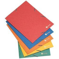 Porte-documents ACCO KING MEC Colt 425 - Classeur à attaches - pour 350 feuilles - rouge
