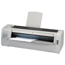 Imprimante Lexmark Forms Printer 2581n+ - Imprimante - monochrome - matricielle - 420 x 559 mm - 240 x 144 dpi - 9 pin - jusqu'à 618 car/sec - USB, LAN