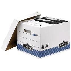 Boîte à archive R-Kive Prima - Boîte d'archive - A4, Foolscap - blanc