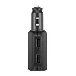 Chargeur Garmin High-speed Multi-charger - Adaptateur allume-cigare (voiture) - 2 connecteurs de sortie (USB) - pour Dash Cam 10, 20, GDR43; Monterra; nüvi 24XX, 25XX, 35XX; VIRB Elite, Ultra 30; zumo 390