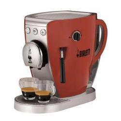 """Expresso et cafetière Bialetti Tazzissima CF37 - Machine à café avec buse vapeur """"Cappuccino"""" - 20 bar - rouge"""
