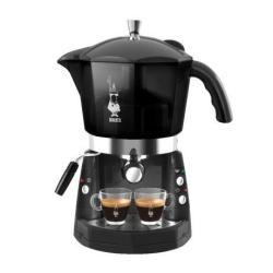 """Expresso et cafetière Bialetti CF 40 Mokona - Machine à café avec buse vapeur """"Cappuccino"""" - noir"""