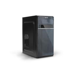 Boîtier PC Nilox - Mini-tour - micro ATX - pas d'alimentation - noir - USB/Audio