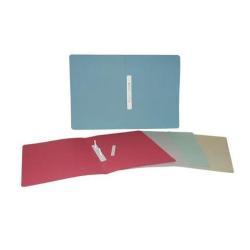 Porte-documents Brefiocart - Chemise à lamelle - 350 x 250 mm - gris