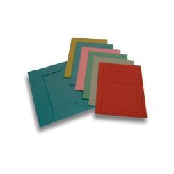 Porte-documents Brefiocart - Chemise à 3 rabats - 330 x 250 mm - gris