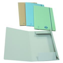 Porte-documents Brefiocart ECO NEW - Chemise à 3 rabats - 350 x 250 mm - brun