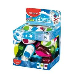 Taille-crayon Maped Clean - Taille-crayon - 2 trous - assortiment (pack de 24)