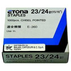 Punti metallici Etona - 23/20