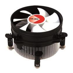 Ventilateur Nilox NX-01IT - Refroidisseur de processeur - ( LGA775 Socket ) - aluminium - 92 mm