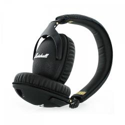 Marshall Monitor - Casque avec micro - pleine taille - 3.5 mm plug - noir