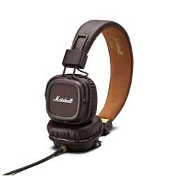 Marshall Major II - Casque avec micro - sur-oreille - jack 3,5mm - brun