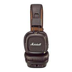 Marshall Major II Bluetooth - Casque avec micro - pleine taille - sans fil - Bluetooth - brun