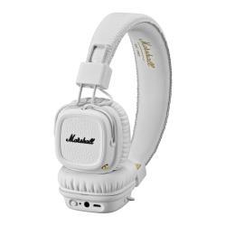 Marshall Major II Bluetooth - Casque avec micro - pleine taille - sans fil - Bluetooth - blanc