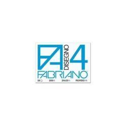 Fabriano Disegno 4 - Papier à dessin - 330 x 480 mm - 20 feuilles