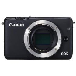 Appareil photo Canon EOS M10 - Appareil photo numérique - sans miroir - 18.0 MP - APS-C - 1080p / 30 pi/s - corps uniquement - Wi-Fi, NFC - noir