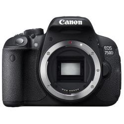 Fotocamera reflex Eos 750d body Nero- canon - monclick.it