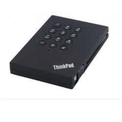 Disque dur externe Lenovo ThinkPad USB 3.0 Secure - Disque dur - 500 Go - externe (portable) - USB 3.0 - 5400 tours/min - pour ThinkCentre M800; Thinkpad 13; 13 Chromebook; ThinkPad E47X; E57X; P51; X1 Yoga; V510
