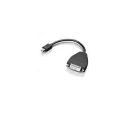 Alimentation Lenovo - Adaptateur DisplayPort - liaison simple - Mini DisplayPort (M) pour DVI-D (F) - 20 cm - pour ThinkPad Helix; ThinkPad T430; T430i; T431s; T530; T530i; W550s; X1 Carbon; X240