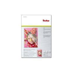 Accessoire plastifieuses Geha - Pack de 25 - brillant - 305 x 425 mm pochettes plastifiées
