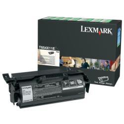 Toner Lexmark - À rendement extrêmement élevé - noir - originale - cartouche de toner LCCP, LRP - pour T654dn, 654dtn, 654n, 656dne