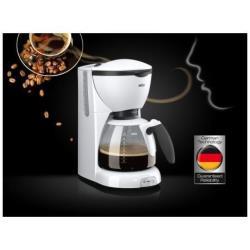 Expresso et cafetière Braun CaféHouse KF 520/1 PurAroma - Cafetière - 10 tasses - blanc