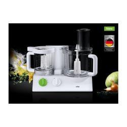Robot de cuisine Braun TributeCollection FX 3030 - Robot multi-fonctions - 800 Watt - blanc/vert