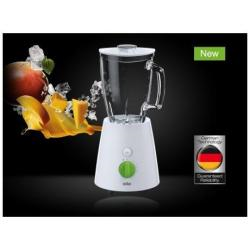 Mixeur Braun Tribute Collection JB 3060 - Bol mixeur blender - 1.75 litres - 800 Watt - blanc/vert
