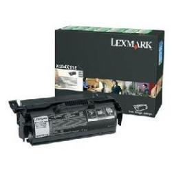 Toner Lexmark - À rendement élevé - noir - originale - cartouche de toner LCCP, LRP - pour X654de, 656de, 656dte, 658de, 658dfe, 658dme, 658dte, 658dtfe, 658dtme