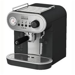 """Expresso et cafetière Gaggia CAREZZA DELUXE - Machine à café avec buse vapeur """"Cappuccino"""" - 15 bar - noir profond"""