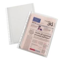 Porte-documents Favorit - Pochette perforée - A4 - transparent (pack de 10)