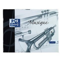 Quaderno Musicale Oxford - Musica