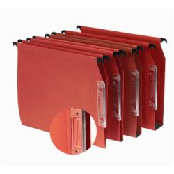 Porte-documents ELBA DEFI V - Dossier suspendu - base-V - A4 - orange (pack de 25)