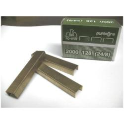 Agrafe ro-ma - Agrafes - 24/8 - 12 x 8 mm - or - pack de 2000
